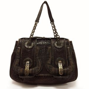 Fendi Vernice Nappa Leather B Bag
